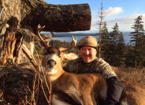 Deer hunting at Port Lions Lodge.