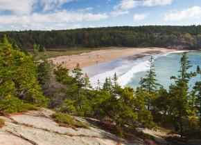 Arcadia National Park beach near Balance Rock Inn.