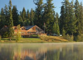 Exterior view of Tyee Lake Lodge.