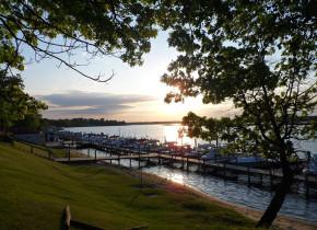 Lake view at Ballard's Resort.