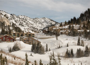 Winter time at Canyon Services Vacation Rentals.