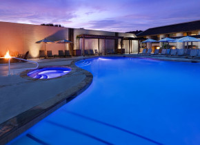 Outdoor pool at Tapatio Springs Hill Country Resort.