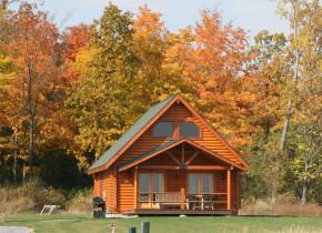 Cabin exterior at Cobtree Vacation Rental Homes.