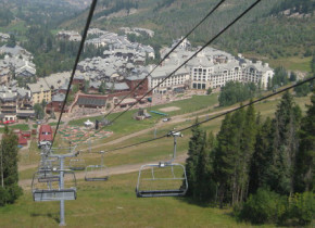Ski lift at The Charter at Beaver Creek.