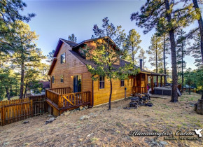 Exterior view of Hummingbird Cabins - Pine Cone Cabin Vacation Rental