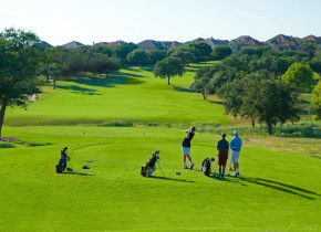 Golf course at Lakeway Resort and Spa.