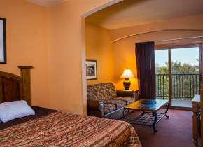 Guest suite at Chula Vista Resort.
