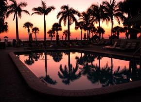 Sunset at Sirata Beach Resort.