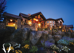 Exterior view of Pronghorn Resort.