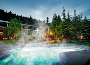Hot spring at Bonneville Hot Springs Resort & Spa.