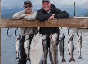 Fishing at Salmon Falls Resort