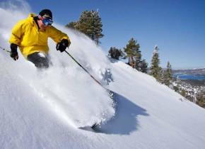 Skiing near Big Bear Vacations.