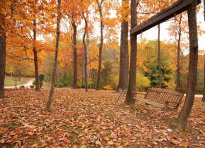 Fall colors at Glenlaurel Inn.