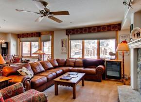 Rental living room at Torian Plum Resort.