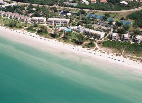 Aerial view of Casa Ybel Resort.
