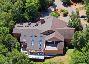 Aerial view of Summit Resort.