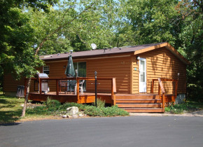 Vacation rental exterior at Island Club Rentals.