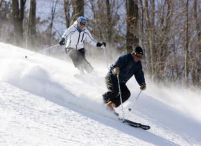 Skiing at Hope Lake Lodge & Indoor Waterpark.