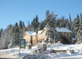 Exterior view of Cascade Lodge.