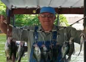 Fishing at Lake Breeze Resort