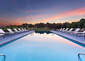 Outdoor pool at Salamander Resort & Spa.