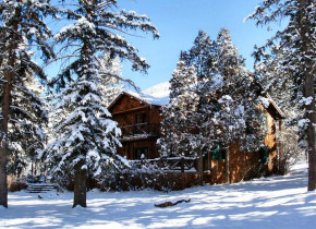 Winter at Rocky Mountain Lodge & Cabins.