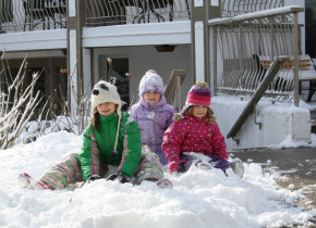 Winter fun at Fern Resort.