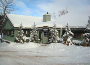 Main lodge at Gunflint Lodge.