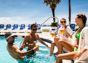 Fun at the pool at TradeWinds Island Grand