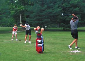 Golf Practice at High Hampton