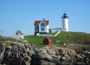 Nubble Lighthouse is close by Mariner Resort.