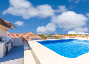 Rental pool at Luxury Properties Vacation Rentals.