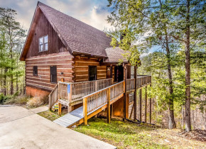 Rental exterior at Dogwood Cabins LLC.