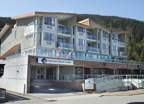 Exterior view of Harrison Beach Hotel.