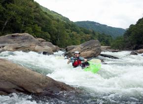 Kayaking at ACE Adventure Resort.