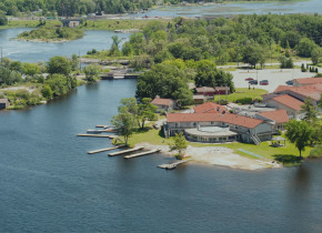 Aerial view of Christie's Mill Inn & Spa.