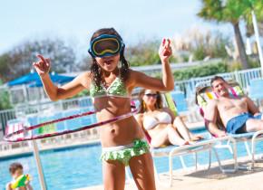 Pool fun at Sea Watch Resort.