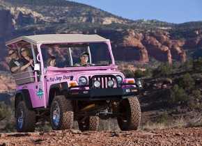 Pink Jeep tours at Inn of Sedona.