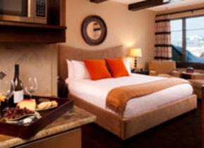 Lumiere Deluxe King Hotel Room in beautiful Telluride, Colorado