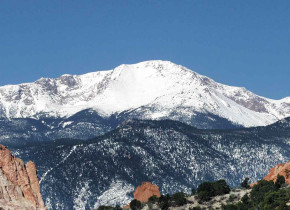Rocky Mountain Lodge & Cabins is located in the mountains at the entrance to Pikes Peak