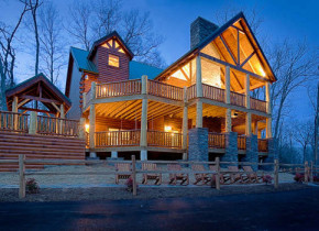 Vacation lodges at American Patriot Getaways, LLC.
