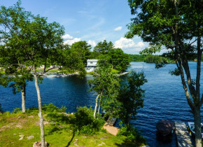 Lake view at Lantern Bay Resort.