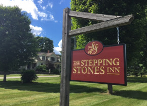 Exterior view of The Stepping Stones Inn.