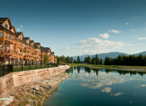 Exterior view of Bighorn Meadows Resort.
