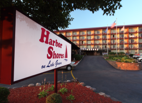 Exterior view of Harbor Shores.