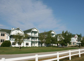 Exterior view of Birchwood Lodge.