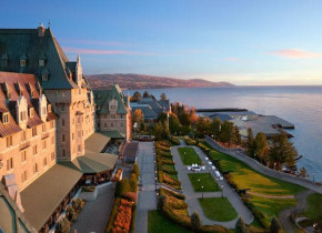 Exterior view of Fairmont Le Manoir Richelieu.