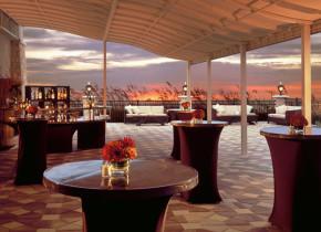 Patio at One Ocean Resort & Spa.