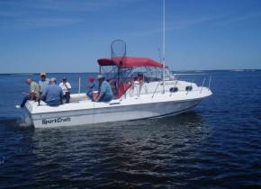 Fishing trip at Ballard's Resort.