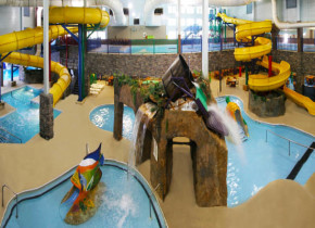 Water park at Castle Rock Resort & Waterpark.